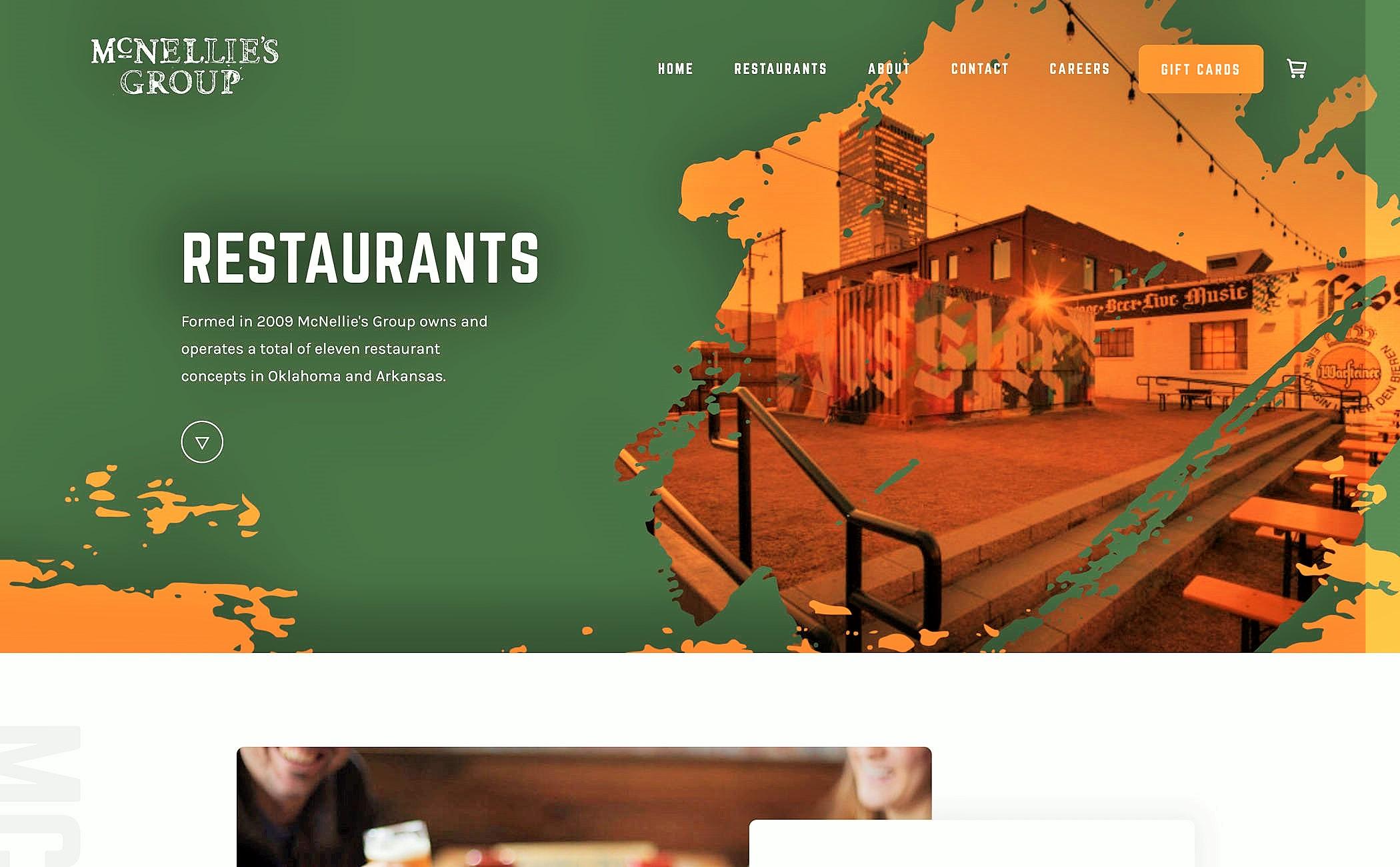 Site restaurant agence web offshore